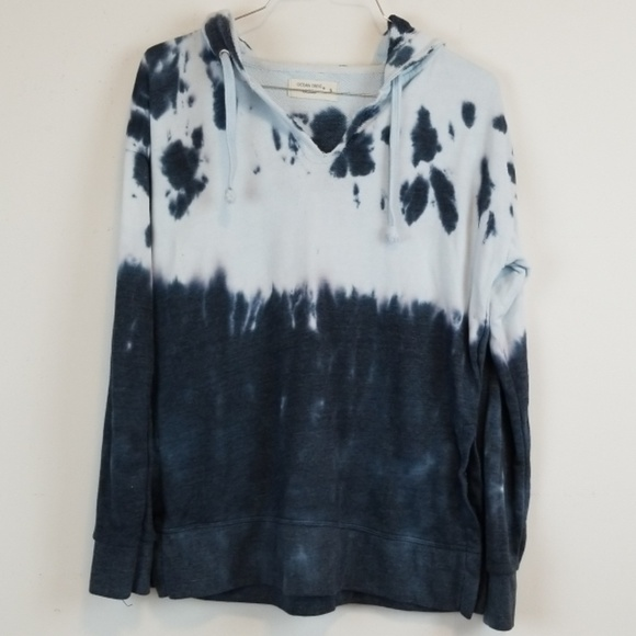Ocean Drive Tops - Ocean Drive/ASOS tie dye hoodie sweatshirt